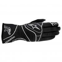 Alpinestars Tech 1-K перчатки картинг черный/белый р-р 11 ( XL)