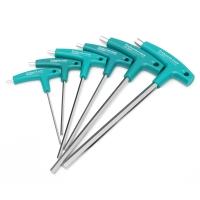 Набор шестигранных ключей с рукояткой 1.5, 2, 3, 4, 5, 6, 10мм