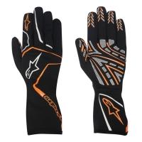Alpinestars Tech 1-K Race перчатки картинг черный/оранжевый р-р 9 (M)