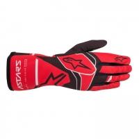Alpinestars Tech 1-K Race S V2 перчатки для картинга, красный/черный, 09(S)