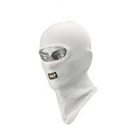 OMP подшлемник для картинга открытый, белый