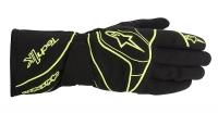 Alpinestars Tech 1-K перчатки картинг черный/желтый р-р 8 (S)