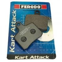 Комплект тормозных колодок Ferodo для OTK BSD 2шт.