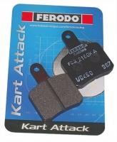 Комплект тормозных колодок Ferodo для OTK BS5/BS6 2шт.