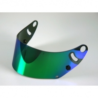 ARAI визор зеркальный  для шлема SK-6/GP-6 , зеленый/синий