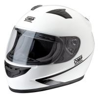 OMP CIRCUIT MY2017  шлем для картинга, закрытый (омологация ECE 22.05) белый, размер M
