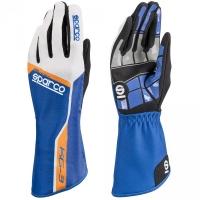 Sparco KG-3 перчатки картинг синий/белый/черный р-р 10 (L)