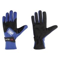 OMP KS-4 перчатки для картинга, синий, р-р XL