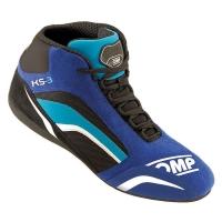 OMP KS-3 ботинки для картинга, синий/белый/голубой, р-р 34 (EUR)/2.5 (US)/1.5 (UK)