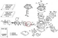 Прокладка выпускного клапана Rotax